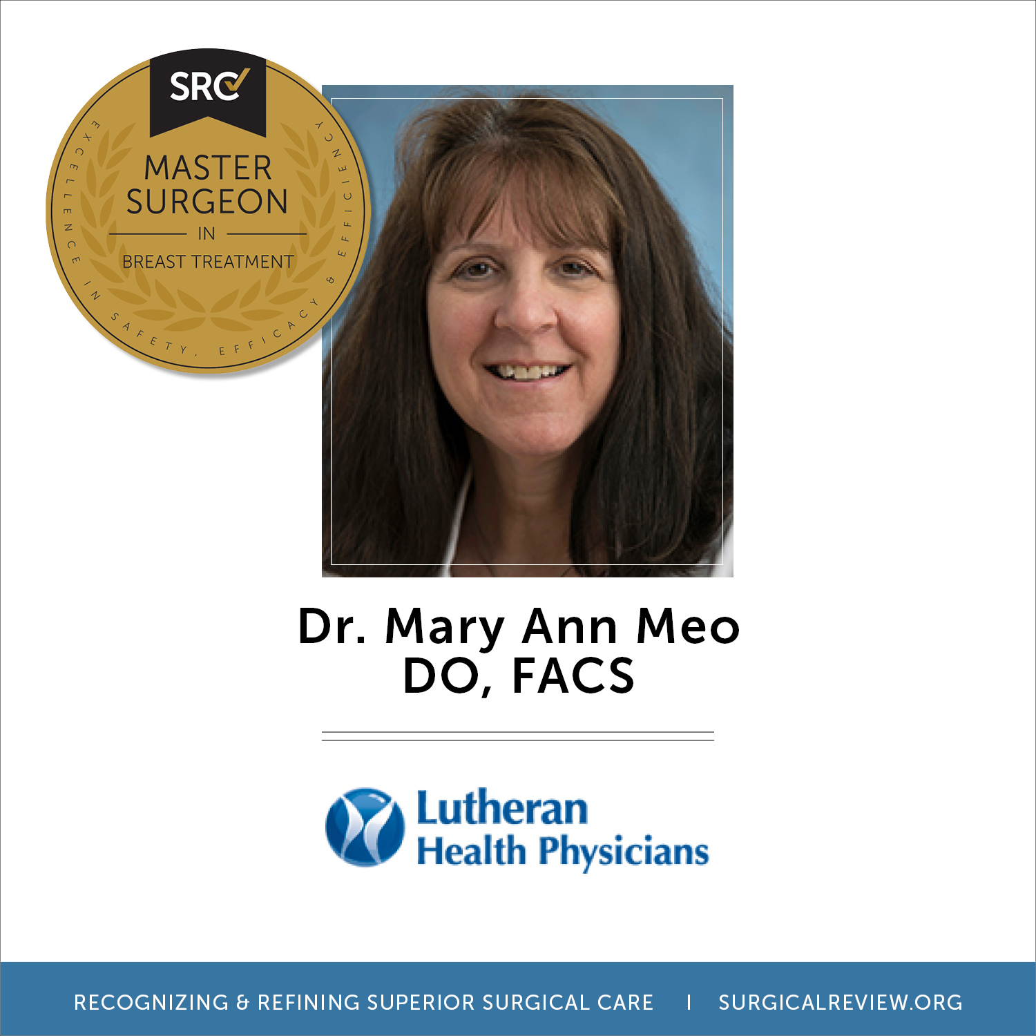 DR. MARY ANN MEO